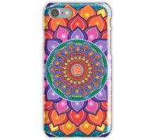 Lotus Rainbow Mandala iPhone Case/Skin