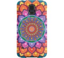 Lotus Rainbow Mandala Samsung Galaxy Case/Skin