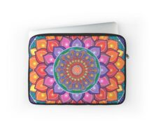 Lotus Rainbow Mandala Housse de laptop