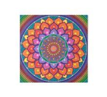 Lotus Rainbow Mandala Impression rigide