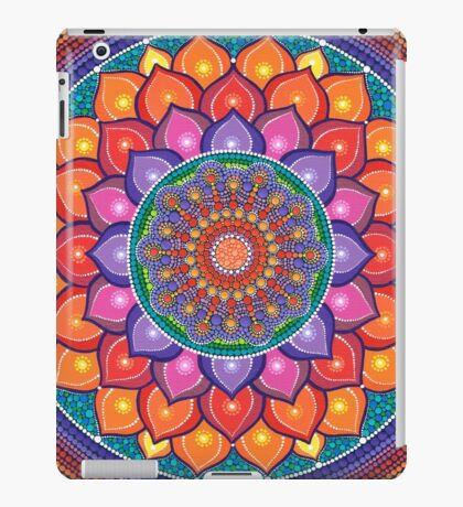 Lotus Rainbow Mandala iPad Case/Skin