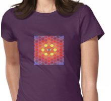 Bee Sacred Geometry Womens Fitted T-Shirt