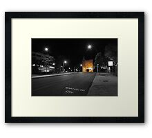 Barracks Arch - Perth Western Australia  Framed Print