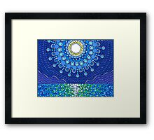 Full Moon Splendour Framed Print