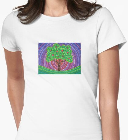 The Apple Tree of Knowledge Womens Fitted T-Shirt