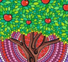 The Apple Tree of Knowledge Sticker