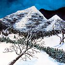 Snowy Mountains by James  Smart