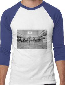 Morden Tube Station Men's Baseball ¾ T-Shirt