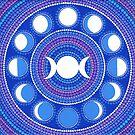 Moon Cycle Mandala by Elspeth McLean