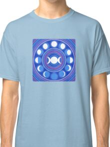 Moon Cycle Mandala Classic T-Shirt