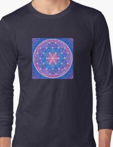 Starry Flower of Life Long Sleeve T-Shirt