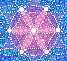 Starry Flower of Life Sticker