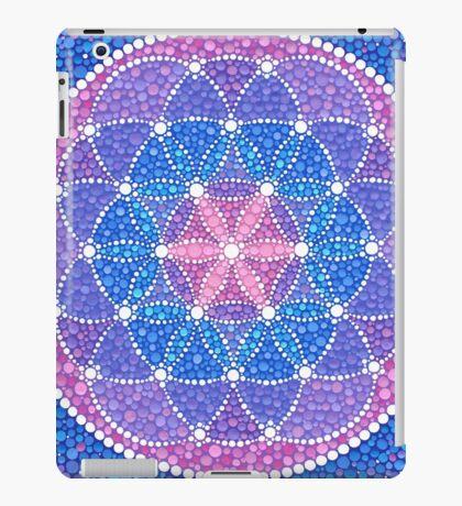 Starry Flower of Life iPad Case/Skin
