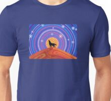 Night of the Wandering Wolf Unisex T-Shirt