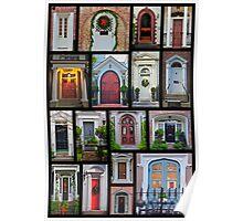 Doors of Charleston Poster