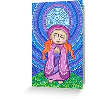 Goddess of Compassion Greeting Card