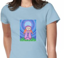 Goddess of Compassion Womens Fitted T-Shirt