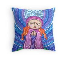 Goddess of Compassion Throw Pillow