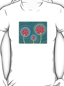 Lotus Family of Three T-Shirt