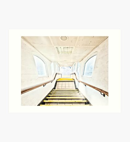 Neasden Tube Station Art Print