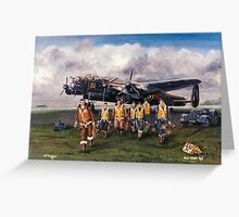 630 Sqdn Aircrew Return Greeting Card