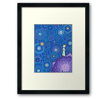 The Cosmic Little Prince Framed Print