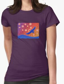 The Spirit of Sunset Womens Fitted T-Shirt