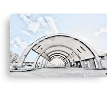 Newbury Park Tube Station Canvas Print