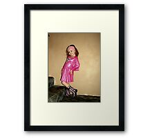 Super Girl Framed Print