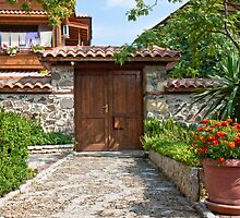 Sozopol Backyard by Nickolay Stanev