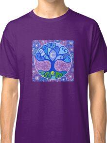 Moon-Tree Mandala Classic T-Shirt