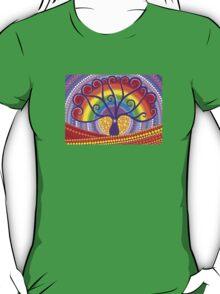 Rainbow Boab Tree of Life T-Shirt