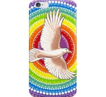 White Raven iPhone Case/Skin