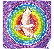 White Raven Poster