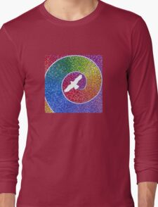 Healing magic from the flight of the Eagle Long Sleeve T-Shirt