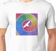 Healing magic from the flight of the Eagle Unisex T-Shirt