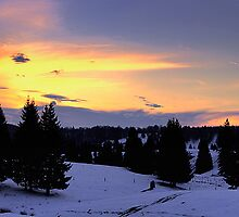 Poiana sunset by Bogdan Ciocsan