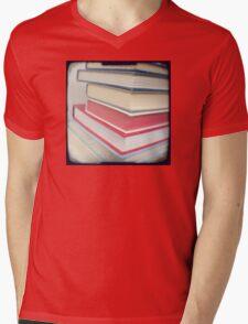 Something to read Mens V-Neck T-Shirt
