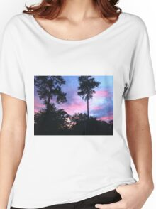 bubblegum skies Women's Relaxed Fit T-Shirt