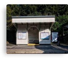 North Ealing Tube Station Canvas Print