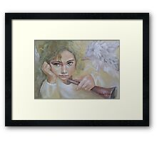 Angel (8) Framed Print