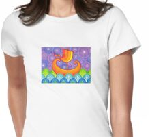 Sail away with me Womens Fitted T-Shirt
