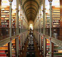 The Historical Copenhagen University Library, DENMARK by Brünø Beach .