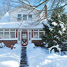 Winter Wonder House by Jeff Stroud