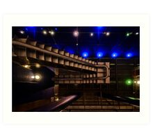 North Greenwich Tube Station Art Print