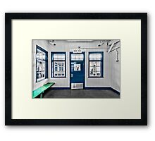 North Harrow Tube Station Framed Print