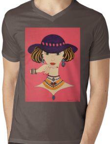 Glamour Mens V-Neck T-Shirt