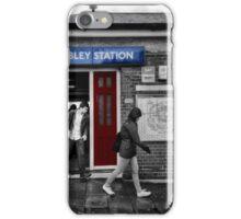 North Wembley Tube Station iPhone Case/Skin