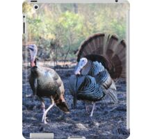 Mr. And Mrs. Turkey iPad Case/Skin