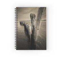 Wooden Poles Spiral Notebook